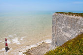 Beachy Head. East Sussex, England, UK — Stock Photo