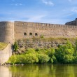 Russian fortress. Ivangorod — Stock Photo