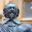 Stock Photo: Statue of Earl of Pembroke. Oxford, UK