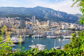 Monte Carlo harbour. Principality of Monaco — Stock Photo