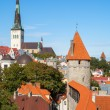 Old Tallinn. Estonia — Stock Photo