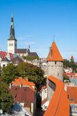 Old Tallinn. Estonia — 图库照片