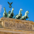 Stockfoto: Quadrigstatue. Berlin, Germany