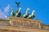 Quadriga statue. Berlin, Germany — 图库照片