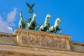 Quadriga statue. Berlin, Germany — Foto de Stock