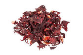 Dried Hibiscus flower — 图库照片