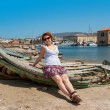 Harbour of Chania. Crete, Greece — Stock Photo