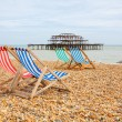 Brighton beach. Brighton, England — Stock Photo