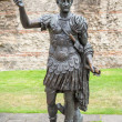 Statue of Trajan. London, UK — Stock Photo