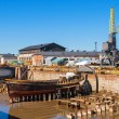 Old dry dock. Suomenlinnisland, Finland — Stock Photo #38835825