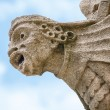 Medieval gargoyle. Oxford, UK — Stock Photo