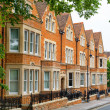 Town houses. Oxford, England — Stock Photo