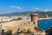 Tossa de mar. costa brava, španělsko — Stock fotografie