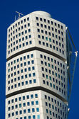 Turning Torso skyscraper in Malmo, Sweden — Stock Photo