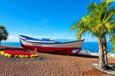 Old boat. Puerto de Santiago, Tenerife, Spain — Stock Photo
