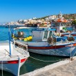 Elounda harbour. Crete, Greece — Stock Photo #46935449