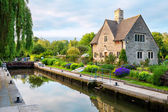 Iffley Lock. Oxford,  England — Стоковое фото