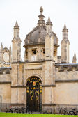 All Souls College entrance gate. Oxford, UK — Stock Photo