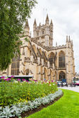 Bath Abbey. Bath, Somerset, England — Stock Photo