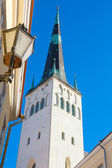 St. Olaf's church. Tallinn. Estonia — Stock Photo