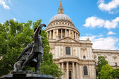 St. Pauls Cathedral. London, England — Stock Photo
