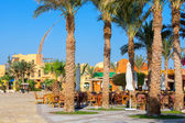 City Square. El Gouna, Egypt — Stock Photo