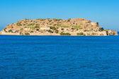 Spinalonga island. Crete, Greece — Stock Photo