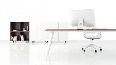 Moderne kantoor — Stockvideo