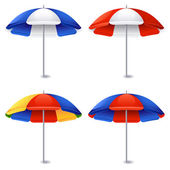 Beach umbrella — Vector de stock