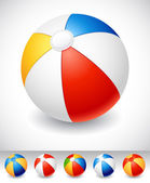 Beach ball — Vector de stock