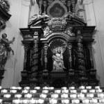 Détails intérieurs d'église catholique — Photo #13950174