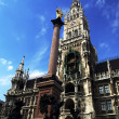 Stock Photo: Marienplatz munich