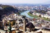 Historical center of Salzburg, Austria — Stock Photo