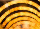 Desenfocada fondo navidad luces abstractas — Foto de Stock