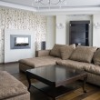 Interior of a new living room — Stock Photo #41697609