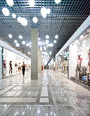 Interior of a shopping centre — Stockfoto