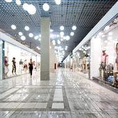 Interior of a shopping centre — Stock Photo