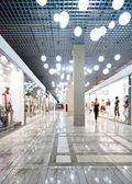 Interior of a shopping centre — 图库照片