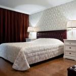 New bedroom interior — Stock Photo