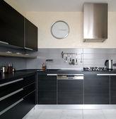 Interiér kuchyně moderní — Stock fotografie