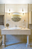 Fragment of a luxury bathroom interior — Stock Photo
