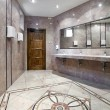 Stock Photo: Public restroom interior