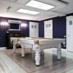 Billiard room interior in a new mansion — Stock Photo #41717229