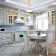 Luxury kitchen interior — Stock Photo #41719573