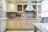 Nuovi interni cucina — Foto Stock