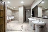 Public restroom interior — Stock Photo
