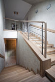 Staircase in a new house — Stock Photo