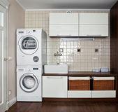 Interior of luxury laundry room — Stock Photo