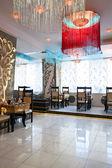 Luxury indian restaurant — Stock Photo