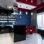 Luxury kitchen interior — Stock Photo #41721149